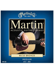 Martin 80/20 Bronze Acoustic Guitar Strings - Medium (13-56) - Set