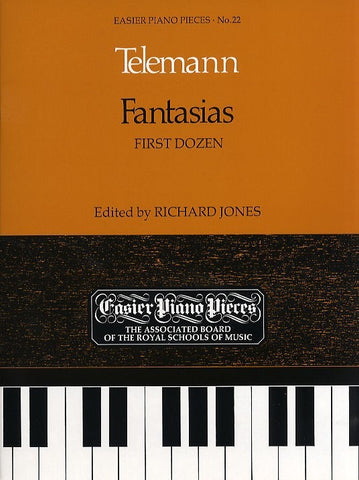 Georg Philipp Telemann: Fantasias - First Dozen (Piano)