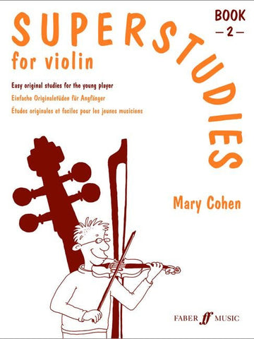 Superstudies for Violin - Book 2