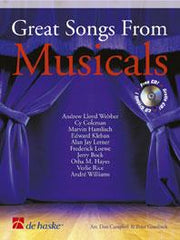Great Songs from Musicals (Trombone or Euphonium + CD)