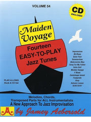 Jamey Aebersold Volume 54: Maiden Voyage - All Instruments (with CD)
