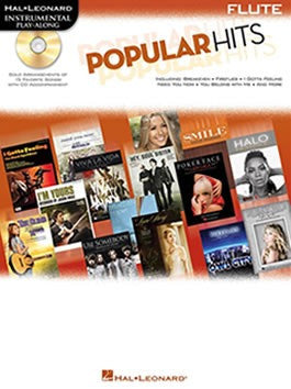 Hal Leonard Instrumental Play-Along: Popular Hits - Flute (with CD)
