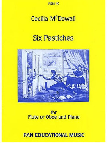 C. McDowall: Six Pastiches for Flute or Oboe and Piano