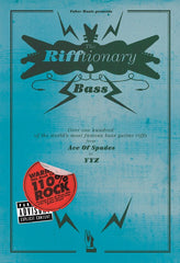 The Rifftionary - Bass Guitar Tab/Chord Songbook