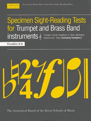 ABRSM Specimen Sight-Reading Tests for Trumpet (+ Brass Band Instruments) - Grades 6-8