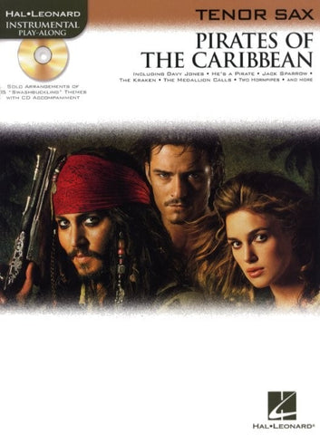 Klaus Badelt: Pirates Of The Caribbean (Tenor Sax + CD)