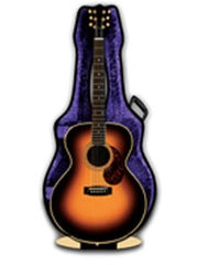 3D Greetings Card - Acoustic Guitar