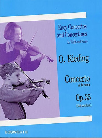 Oskar Rieding: Concerto In B minor Op.35 (Violin/Piano)