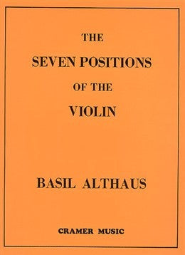 B. Althaus: The Seven Positions of the Violin (Revised Edition)