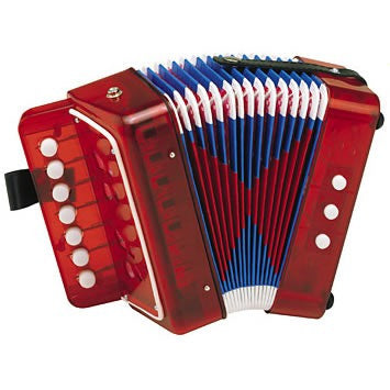 Hohner Kids Toy Accordion - Red