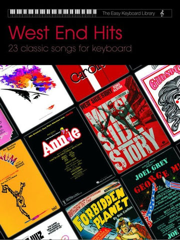 The Easy Keyboard Library: West End Hits