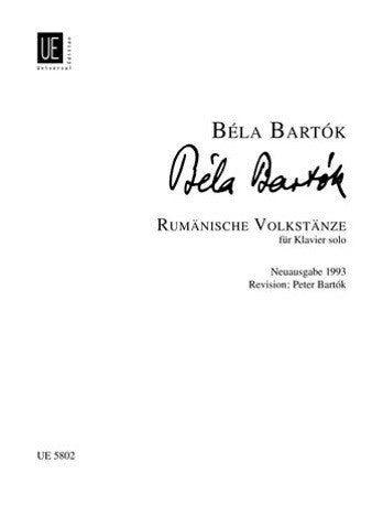 Bela Bartok: Rumanian Folk Dances for Piano