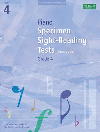ABRSM Grade 4 Piano Sight-Reading Specimen Tests (from 2009)