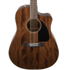 Fender CD-60CE Electro-Acoustic Guitar - Dreadnought with Cutaway - Mahogany