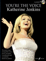 You're the Voice: Katherine Jenkins - Piano, Vocal + Guitar (with CD)