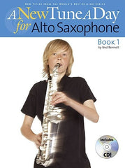 A New Tune a Day: Alto Saxophone - Book 1 (with CD)