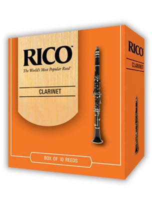 Rico Bb Clarinet Reeds - Size 1.5 (Box of 10)