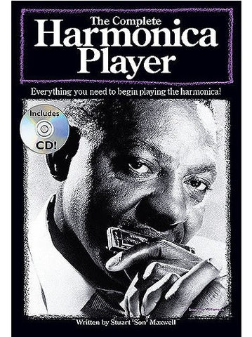 The Complete Harmonica Player (with Instrument + CD)