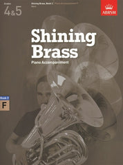Shining Brass Piano Accompaniment Book 2 - Grades 4-5 - F Instruments