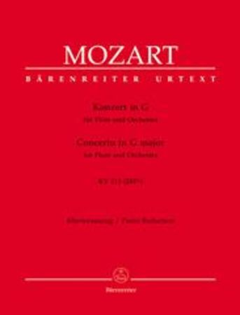 Mozart - Concerto In G Major - Flute + Piano Reduction