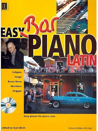 Easy Bar Piano - Latin (with CD)