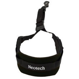 Neotech Soft Sax Strap (Junior Size) in Black (Swivel Hook)
