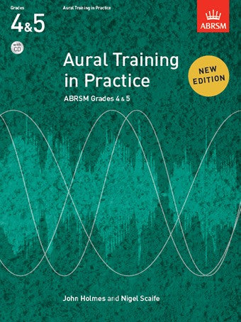 Aural Training in Practice Book 2 - Grades 4-5 (with CD)