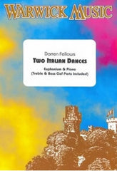 Darren Fellows: Two Italian Dances (Euphonium TC or BC/Piano)
