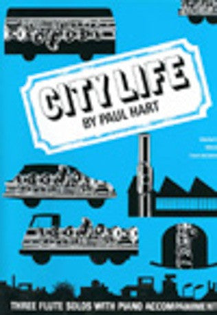 Paul Hart: City Life (Flute/Piano)