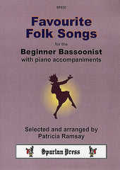 Favourite Folk Songs for the Beginner Bassoonist (Bassoon/Piano)