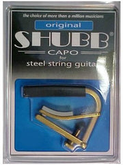 Shubb C1 Acoustic Guitar Capo - Nickel