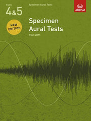 ABRSM Specimen Aural Tests (from 2011) - Grades 4-5