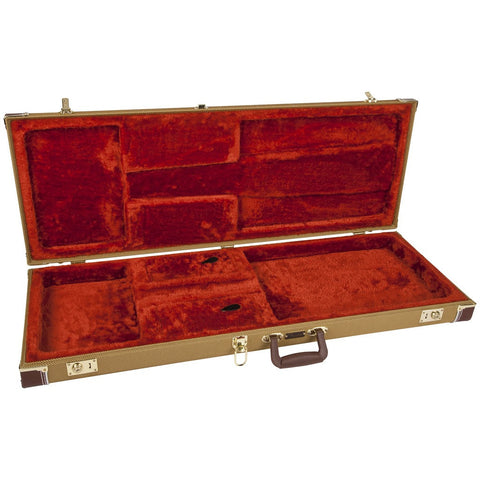 Fender Pro Series Strat/Tele Hard Case - Tweed