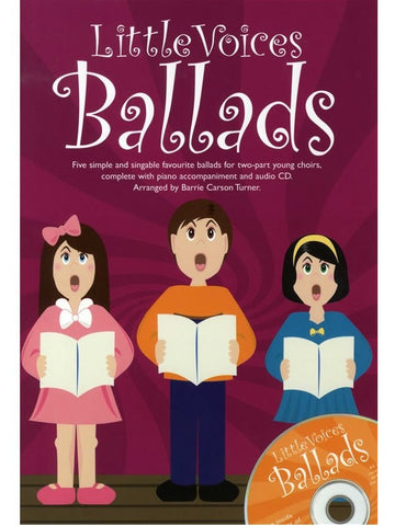 Little Voices: Ballads - SS + Piano (with CD)