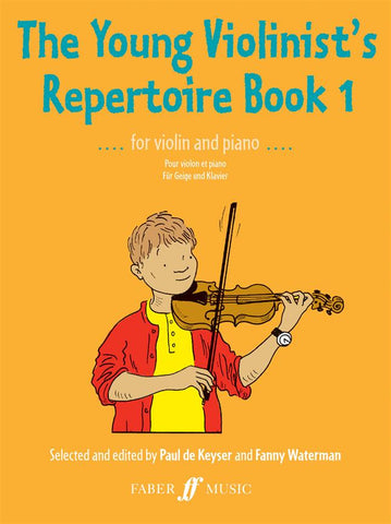 The Young Violinist's Repertoire Book 1 - Violin