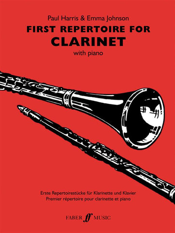 First Repertoire for Clarinet - Clarinet + Piano