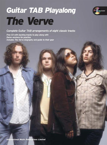 Guitar TAB Playalong: The Verve (with CD)