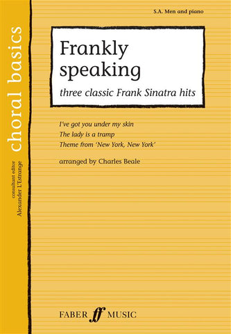 Frankly Speaking - Three Classic Frank Sinatra Songs - SA Men + Piano