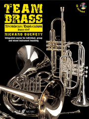 Team Brass - Trombone/Euphonium - Bass Clef (with CD)