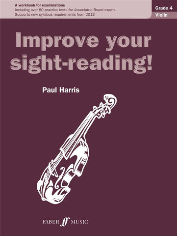 Improve Your Sight-Reading! - Violin - Grade 4 - New Edition