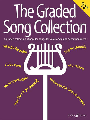 The Graded Song Collection (Grades 2-5) - Voice + Piano