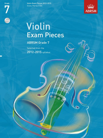 ABRSM Selected Violin Exam Pieces 2012-2015 - Grade 7 - Violin + Piano (with CD)