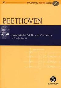 L.V. Beethoven: Violin Concerto in D Major Op.61 - Miniature Score (with CD)