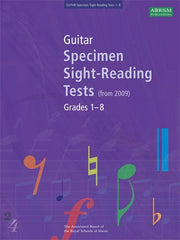 ABRSM Guitar Specimen Sight-Reading Tests (from 2009) - Grades 1-8