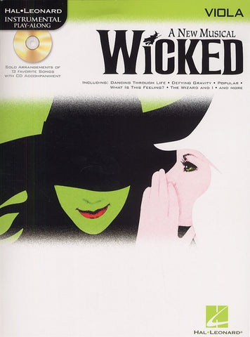Hal Leonard Instrumental Play-Along: Wicked (Viola + CD)