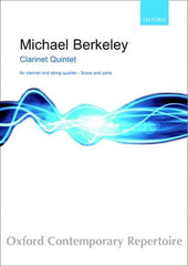 Michael Berkeley: Clarinet Quintet - Score + Parts (Clarinet/2 Violins/Viola/Cello)