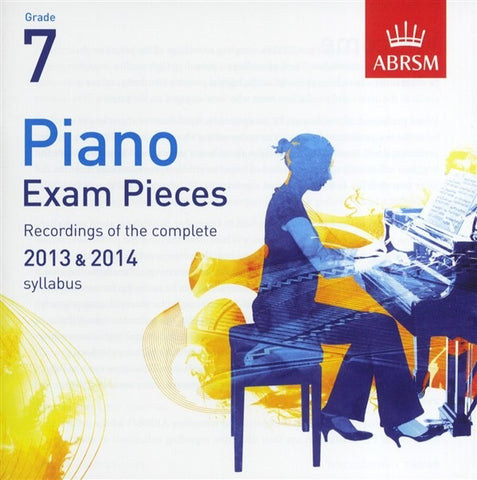 ABRSM Piano Exam Pieces 2013-2014 - Grade 7 - CD Only