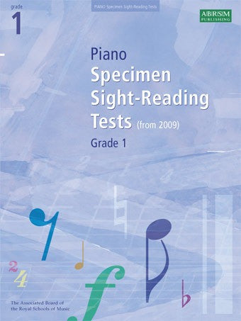 ABRSM Grade 1 Piano Sight-Reading Specimen Tests (from 2009)