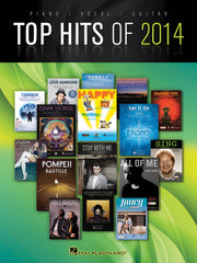 Top Hits of 2014 - Piano, Vocal + Guitar