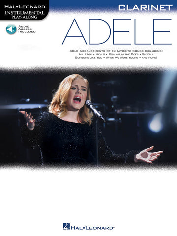 Hal Leonard Instrumental Play-Along: Adele - Clarinet (with Online Audio)